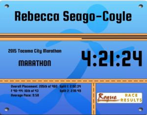 Tacoma Marathon